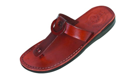 Camel Shoemaker Unisex Outdoor Leather - the Shepherd Style IV - Biblical Sandals - Women style - 41