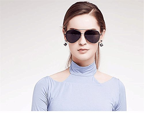aviateur concepteur soleil Steampunk Femmes conduite de lunettes polarisées qbling lunettes marque technolog or 2 métal wq0AxpX8