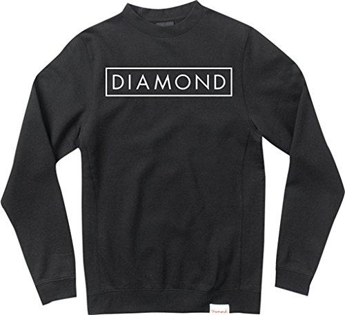Diamond Future Crewneck Sweatshirt [Medium] Black by Diamond
