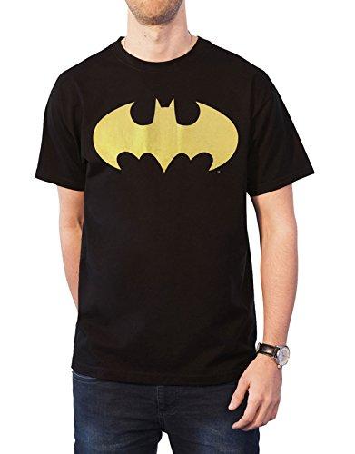 DC Comics Batman Na Batman Mens Black T-Shirt