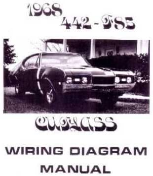 amazon.com: 1968 oldsmobile 442 cutlass f-85 wiring diagrams: automotive  amazon.com