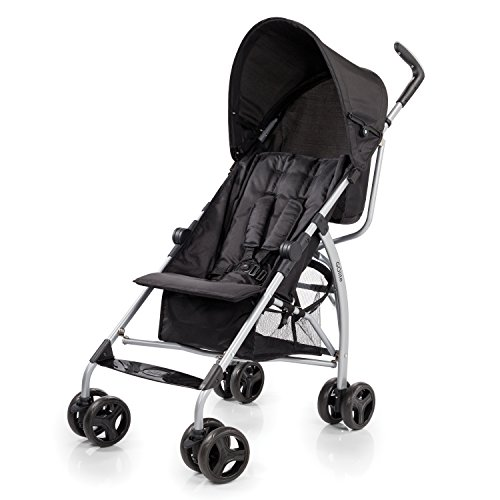 Summer Infant GOlite Convenience Stroller, Black Jack