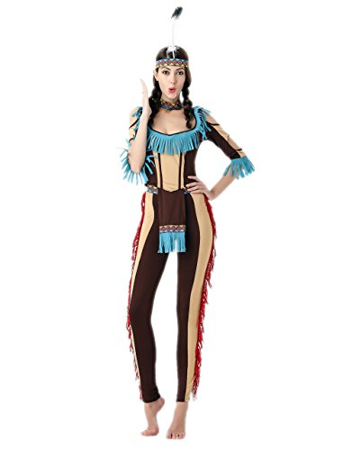 Wild West Indian costume halloween party costume for (Wild West Costumes Indians)