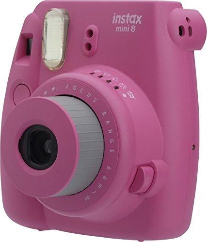 Fujifilm Instax Mini 8 Instant Film Camera (Renewed) (Hot Pink)