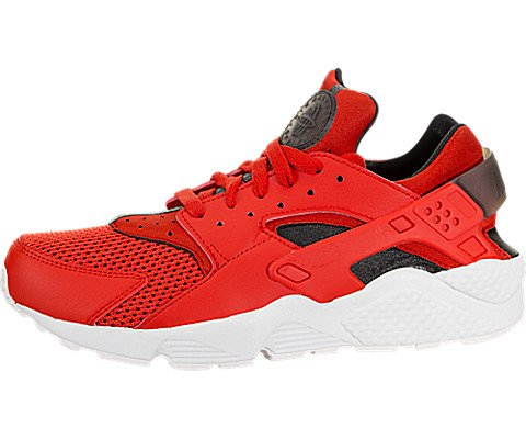 brand new 2f9c8 a32eb Galleon - NIKE Air Huarache Men s Running Shoes Habanero Red Black White  318429-609 (11 D(M) US)