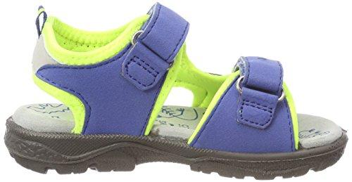 Neon Lurchi Garçon Kuby Yellow Sandales Blau Cobalt xOOw0pXq7