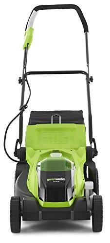 greenworks tondeuse gazon sans fil sur batterie 35cm 40v. Black Bedroom Furniture Sets. Home Design Ideas
