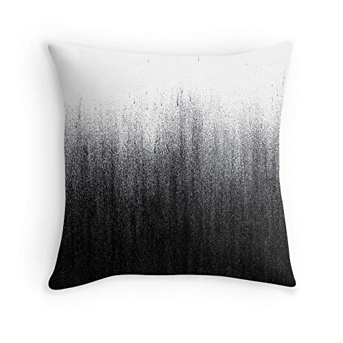Charcoal Ombré for Sofa Couch Living Room Bed Decorative