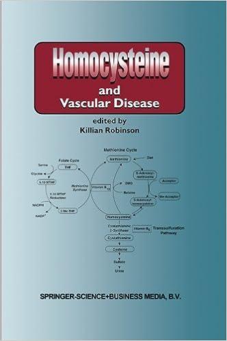 Gratis online bøger ingen download læses online Homocysteine and Vascular Disease (Developments in Cardiovascular Medicine) (Volume 230) PDB 9048154316