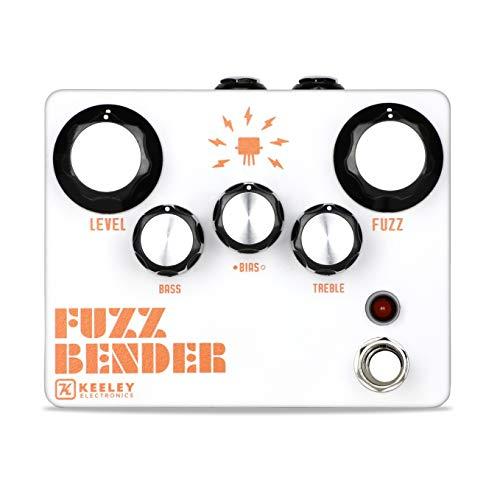 Keeley Fuzz Bender 3 Transistor Hybrid Fuzz Pedal (Black)