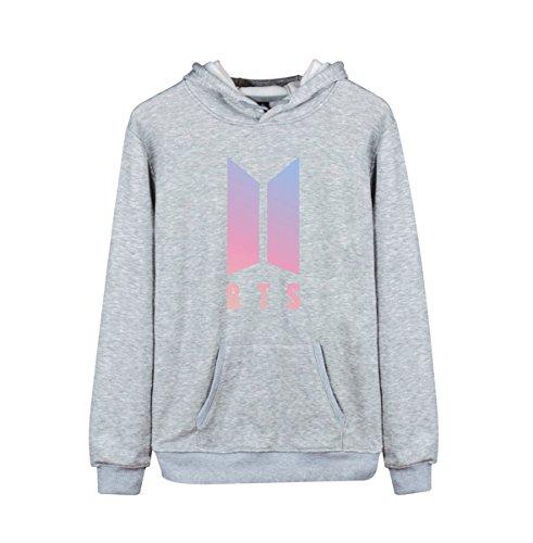 Kpop BTS Love Yourself Her Hoodie Suga Rap-Monster Jimin Jin J-Hope Jung Kook Unisex Fashion Jumper for Women Men Sweatshirt by Newhe (Image #2)