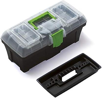 Prosper Plast Caja de Herramientas Greenbox – 12 Inch con Bandeja ...