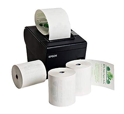 Compatible Epson - m244 a impresora térmica Rolls (20 rollos ...
