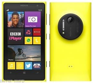Nokia Lumia 1020 Yellow Rm-875 (Factory Unlocked) 41mp Pureview Camera , 32gb