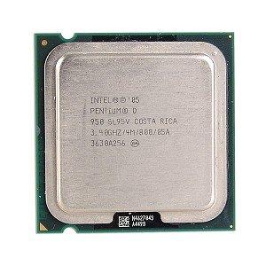 Intel Pentium D 950 34GHz 800MHz 2x2MB Socket 775 Dual Core CPU (775 Socket D Pentium)