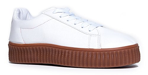 Vince Sneakers, White, 7.5 B(M) - Jenner Edgy Style Kylie