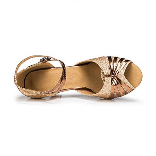 Miyoopark - salón mujer Gold-7.5cm Heel