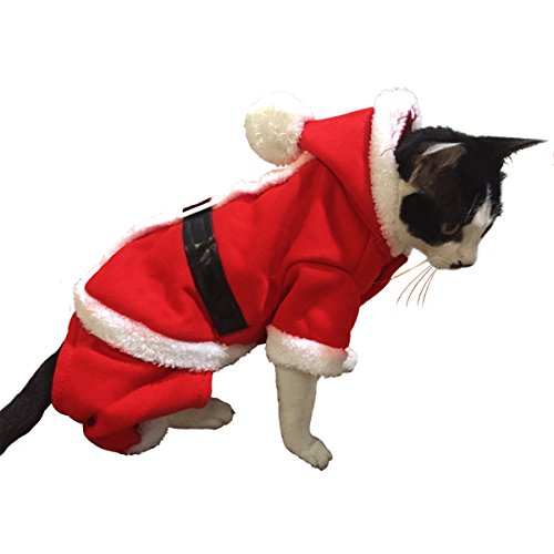 Namsan Christmas Cats Costume Halloween Cat Clothes