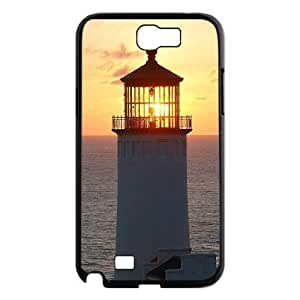 Lighthouse The Unique Printing Art Custom Phone Case for Samsung Galaxy Note 2 N7100,diy cover case ygtg544730