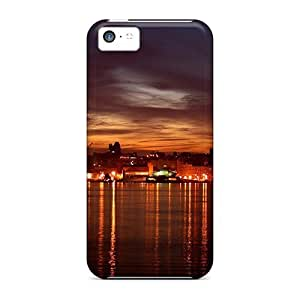 New City In The Dark Cases Covers, Anti-scratch Nbb27546tShs Phone Cases For Iphone 5c