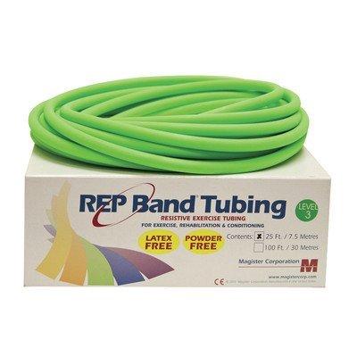 (Rep Band Latex-Free Tubing - 25' - Level 3/Green)