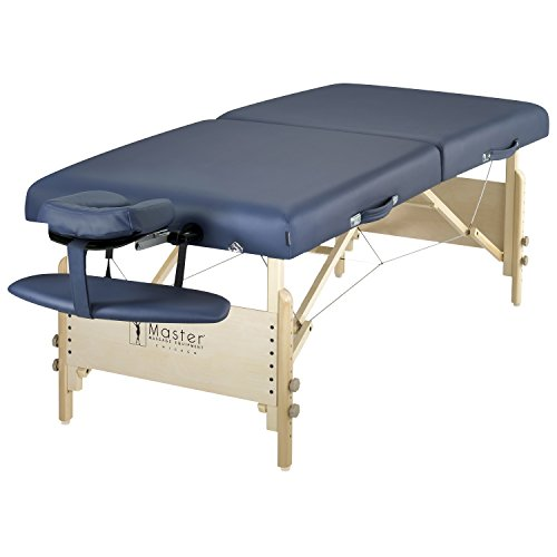 Master Massage Catalina Portable Pro Package Massage Table, Royal Blue, 30 Inch (Master Table Massage)