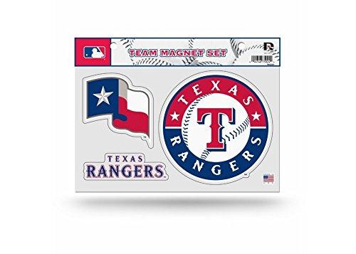 MLB Texas Rangers Team Magnet Set (Team Rangers Magnet Texas)