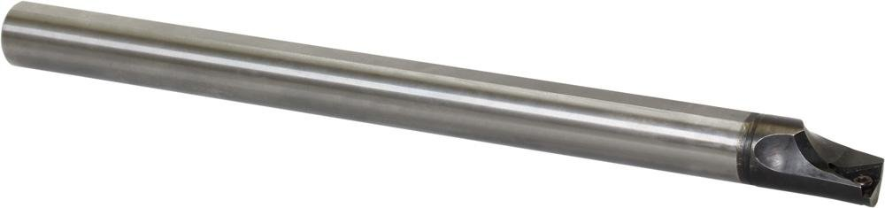 Kyocera E12Q-STLPR11-14A Carbide Boring Bar 0.5512in Minimum Bore Diameter 7.0866in OAL E(C)-STLB(P)-A Toolholder Style Right Hand Screw Holding 5 Degrees Lead Angle