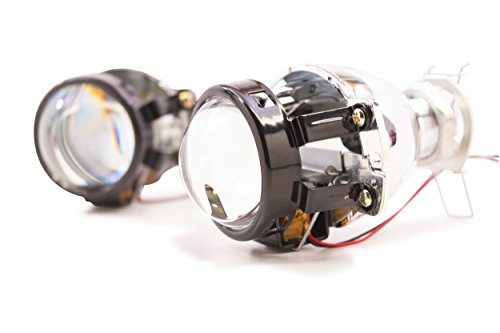 Bi-Xenon Morimoto Matchbox high beam/low beam Retrofit Projector (Pair) with Micro Gatling Shrouds TRS-S100