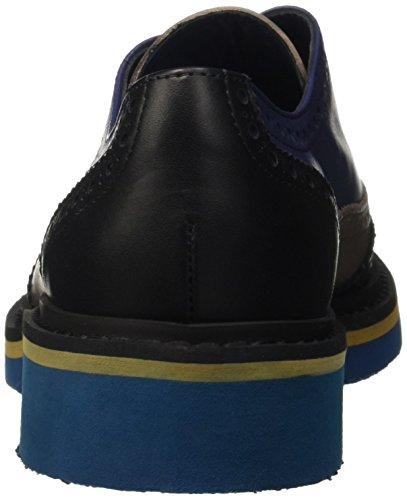 Oceano Fango Pollini Oxford Stringate Basse Multicolore Scarpe Nero Sa10293g12td Donna FgwvFnaSq