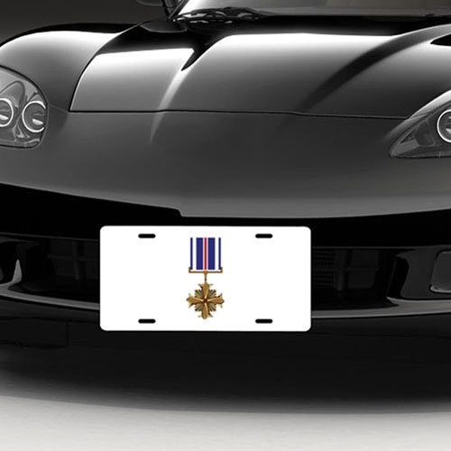 Cross Flying Distinguished (Air Force USAF Medal Distinguished Flying Cross Medal License Plate)