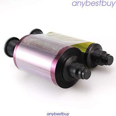 FidgetGear R3011 R3011C YMCKO Full Color Ribbon Pebble Evolis Dualys 3 4 Pebble Printer