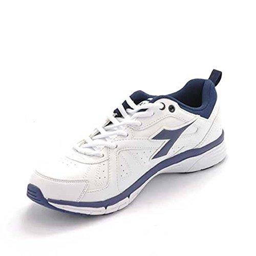 Diadora - Zapatillas de gimnasia para hombre Blanco blanco