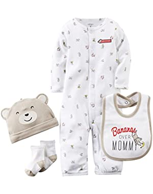 Carters Baby Boys Layette Set (Baby)