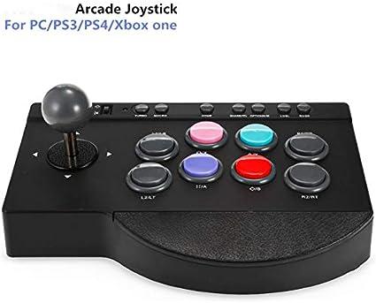 ZUEN Joystick Joystick, Palanca De Mando del Juego De Joystick, Smart TV Juego De Arcada De La Palanca De Mando para PS4 / PS3 PC / / Xbox: Amazon.es: Deportes y aire libre