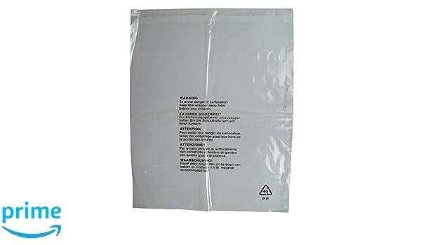 50 bolsas de embalaje individuales para ropa, con ...