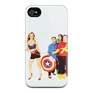 Excellent Design The Big Bang Theory Phone Case For Iphone 4/4s Premium Tpu Case