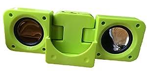 adidas verde portátil Fold–Up altavoz para iPod iPhone y MP3