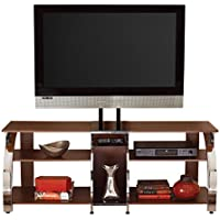 Steve Silver Company Layla TV Console with Mounting Bracket, 58 x 19 x 55