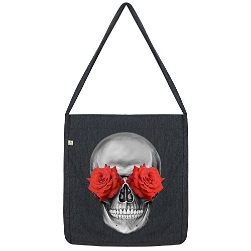 Envy Eye Twisted Twisted Bag Rose Tote Black Skull Envy wqIUBgdnEw