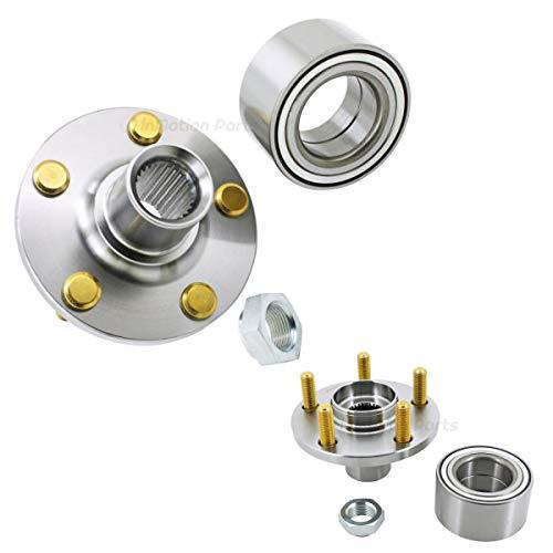(inMotion Parts Front Wheel Hub Bearing Kit IMP930541K for Chrysler PT Cruiser 2010-2002; Dodge Neon 2005-2002, replace 930541K, 2 Pack)