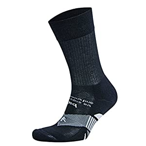 Balega Enduro Physical Training Crew Socks For Men and Women (1-Pair), Black, Medium