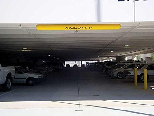 Parking Clearance Bar - BCLB Series; Outside Diameter: 5-1/4''; Length: 78''; Color: Yellow by Beacon World Class Products