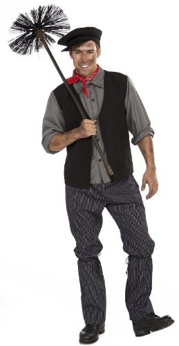Forum Novelties Men's Chimney Sweep Costume, Multicolor,