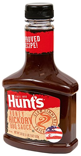 Hunt's Honey Hickory BBQ Sauce, 18 oz