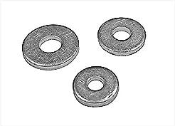 Qty: 100 - Aluminum Backup Washer for 3/...