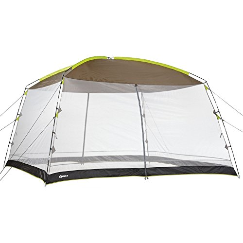 Quest® 12 Ft. X 12 Ft. Recreational Mesh Screen House Canopy Tent: Great for Backyard and Camping by Quest