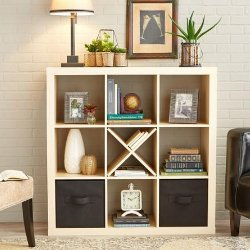 Better Homes And Gardens 9 Cube Organizer Storage Bookcase Bookshelf Cabinet Divider