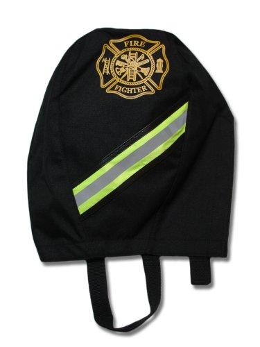 Lightning X Fireman's SCBA Air Pak Respirator Firefighter Mask Face Piece Bag for First Responder - Black (Bag Fighter)