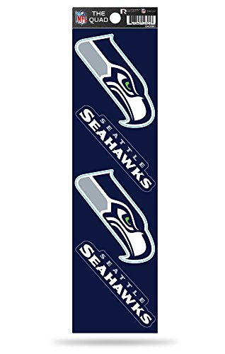 - NFL Seattle Seahawks Quad Decal